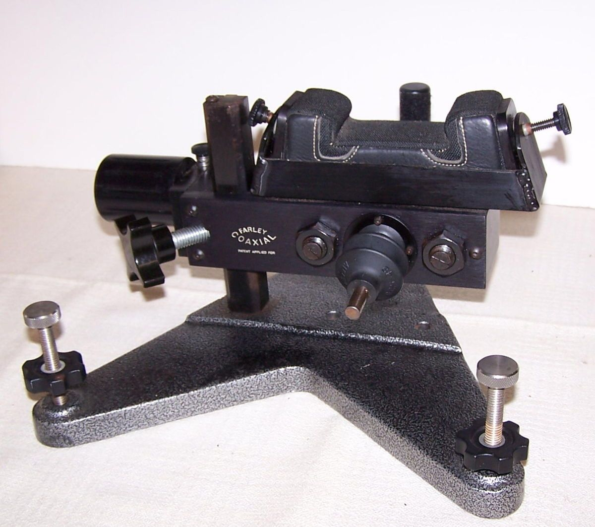 Farley Co Axial Front Rest Bench Rest Rifle Rest Gun Rest Super Nice