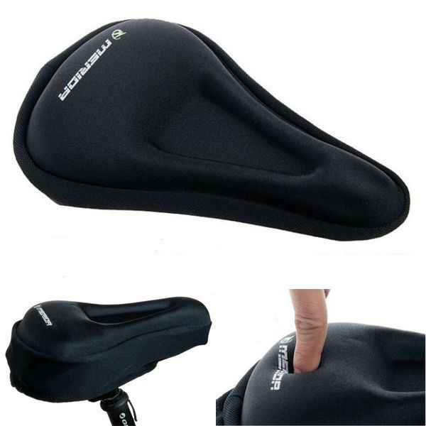 Bicycle Silicone Soft Pad Saddle Silica Gel Cushion Seat Cover