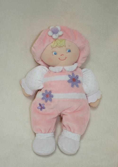 Baby Gund Sonja Girl Pink Doll Plush Lovey Stuffed Toy 58543