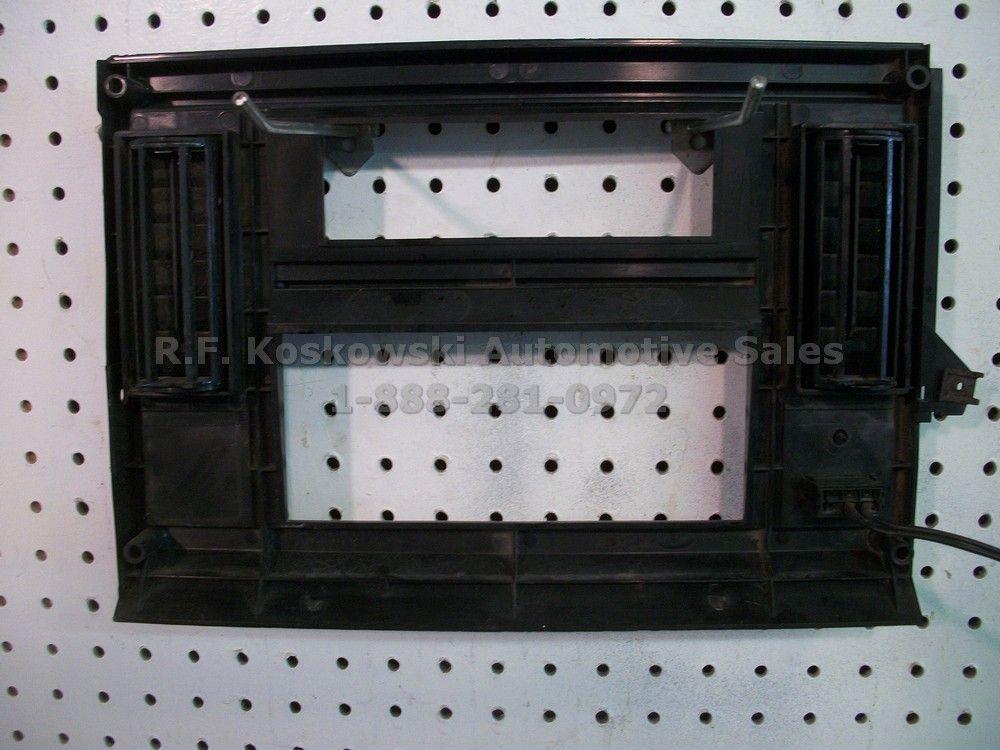 Chevy S10 GMC S15 Pickup Truck Blazer Jimmy Interior Dash Radio Bezel