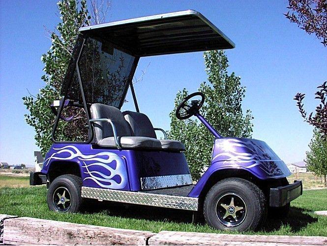 Yamaha Golf Cart Diamond Plate Kick G1