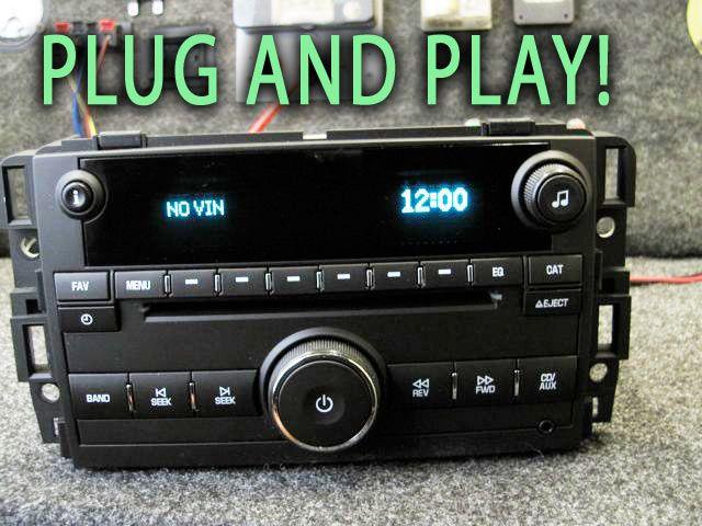 Chevy GMC CD Disc  Player Stereo Sierra Tahoe Yukon Silverado 07 08