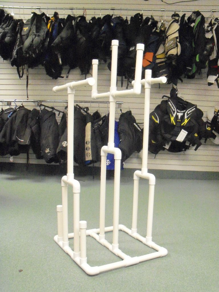 Sports Equipment Hockey Drying Rack Tree Goalie