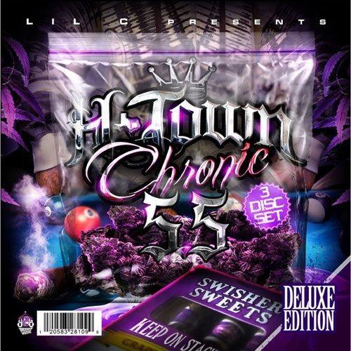 Lil C Htown Chronics 5 5 Mixtape CD Rap Hip Hop Music