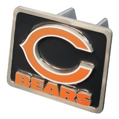 New Chicago Bears NFL Truck Trailer Hitch Cover