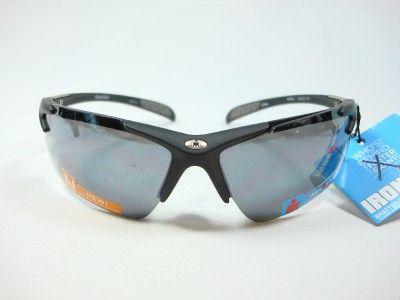 Foster Grant Iron Man Black Sports Sunglasses Hurdle EG1210 New