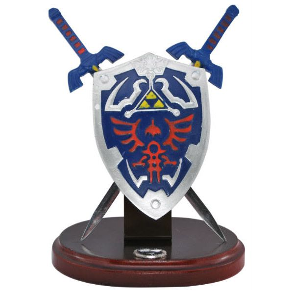 Hylian Letter Opener Shield Sword Table Top Display