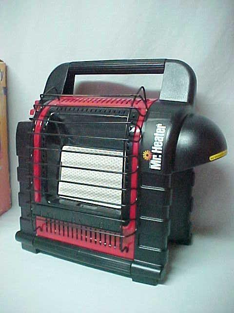 Mr. Heater Portable Buddy Indoor Safe Propane Heater. Model MH9B