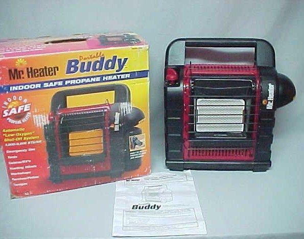 Mr Heater Portable Buddy Propane Heater Indoor Safe