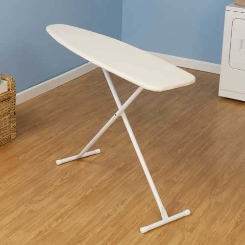 household essentials white t leg ironing board