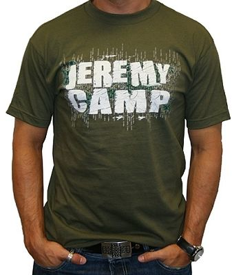 Jeremy Camp Rock T Shirt Official Licensed Merch