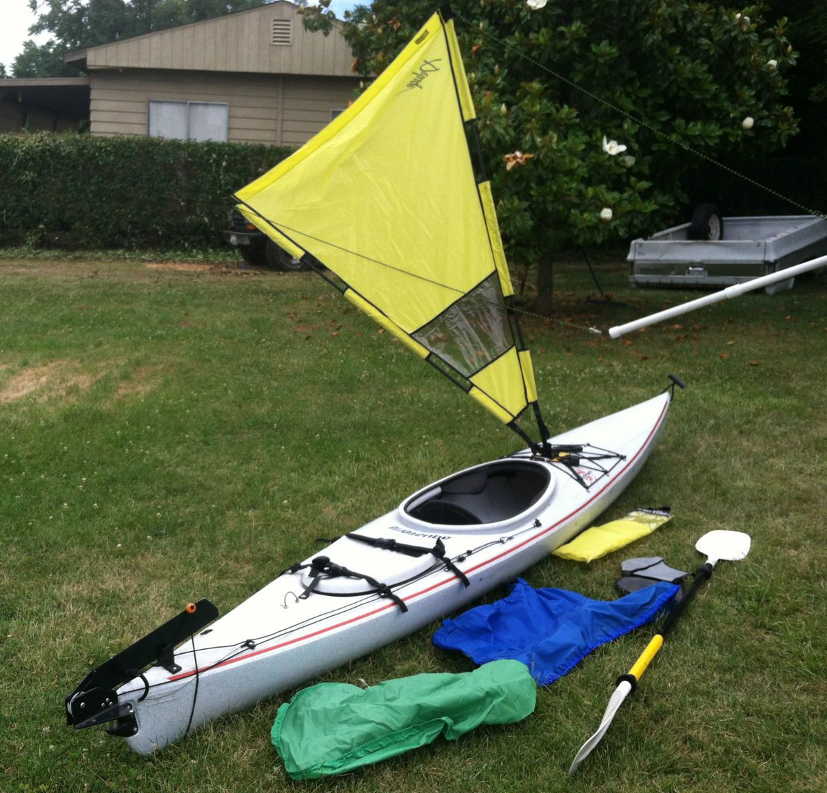pop up rudder with Kayak 14 W Rudder Sail Paddle   More Everything You Need on What A Rich Guy Can Do Clive Palmer Is Building A Titanic Redo In China besides Boeing 747 Aircraft PCU Rudder Power Control Unit EBay in addition Kayak 14 W Rudder Sail Paddle   More Everything You Need in addition Disney Pixar Finding Dory Finding Dory Deluxe Exclusive Pvc Figure Set furthermore Showthread.