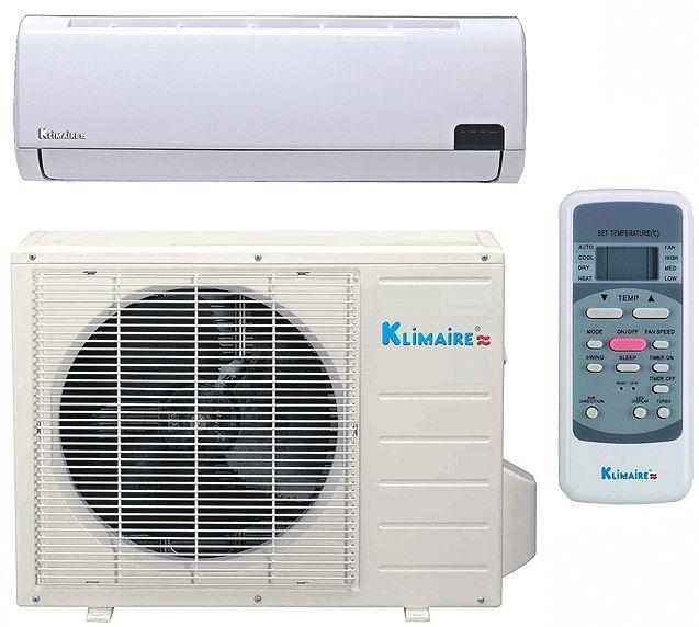 Mini Split Air Conditioner SEER 19 Klimaire Energy Star