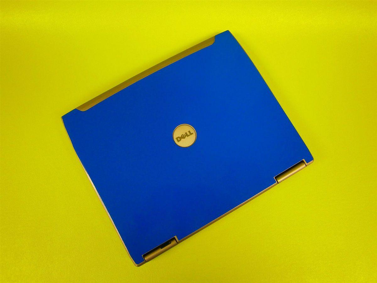 Dell Latitude D610 Wireless Laptop 1 73GHz 2GB 60GB WiFi BLUE SKIN NEW