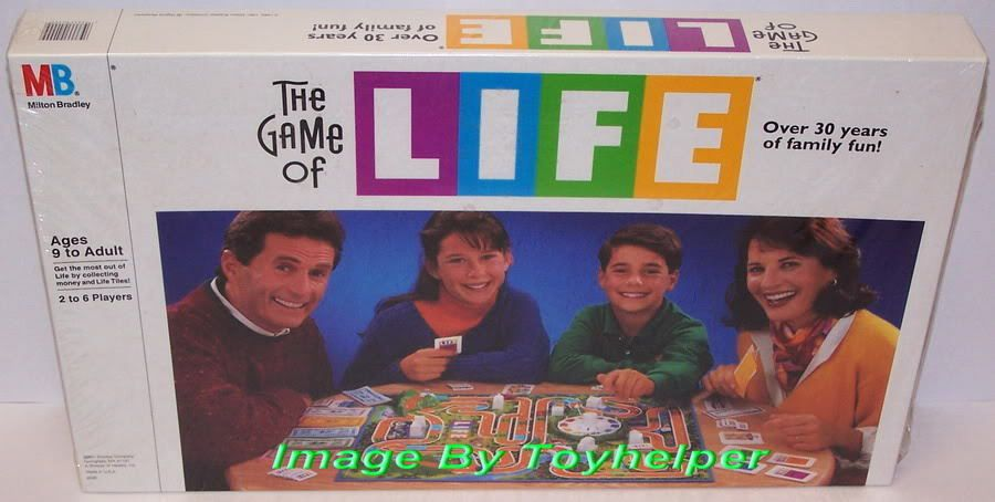 The Game of Life Board Game Milton Bradley SEALED