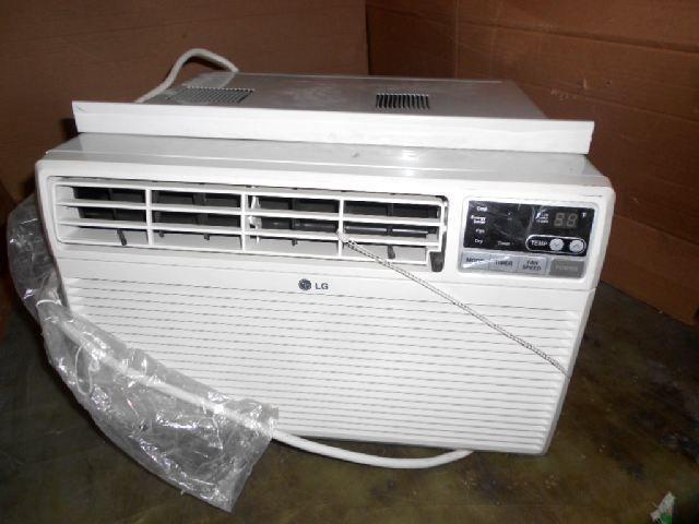 LG 10 000 BTU White Room Air Conditioner LWHD1009R