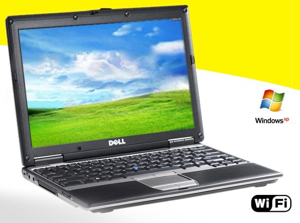 Dell Latitude D430 Netbook Core 2 Duo Laptop XP 3 WiFi 1.2GHz ~Ultra