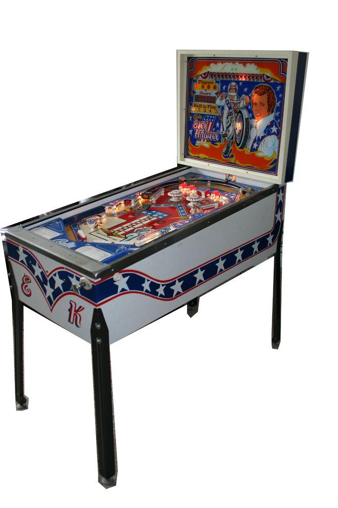 Evel Knievel Professional Home Use Classic Pinball Machine