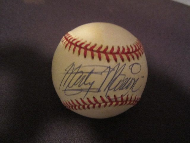 Marty Marion St Louis Cardinals Autographed Official MLB Baseball PSA