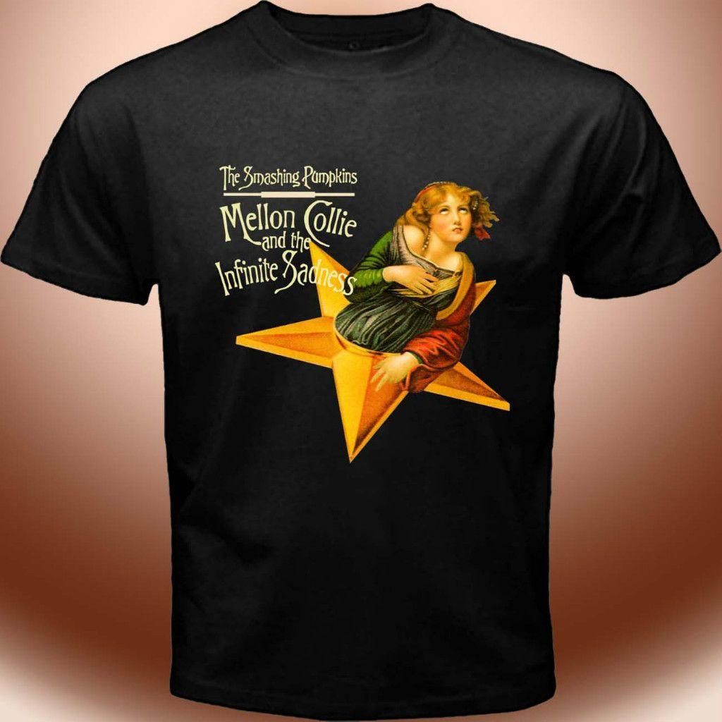 Alternative Rock Band Shirt Mellon Collie T Shirt s to 3XL