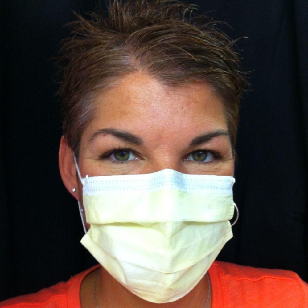 50 pcs Earloop Face Mask Disposable Medical Dental dust respirator