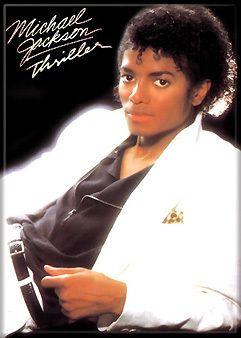 Michael Jackson Thriller Album Cover Magnet