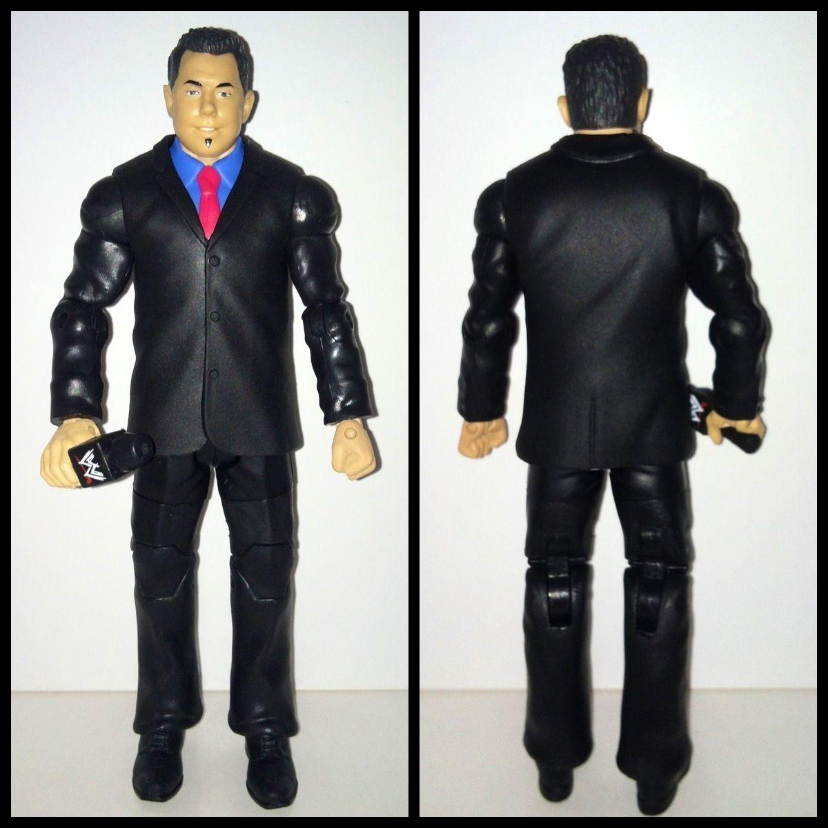 WWE Mattel Elite Michael Cole PPV TRU BAF MINT Wrestling Action Figure