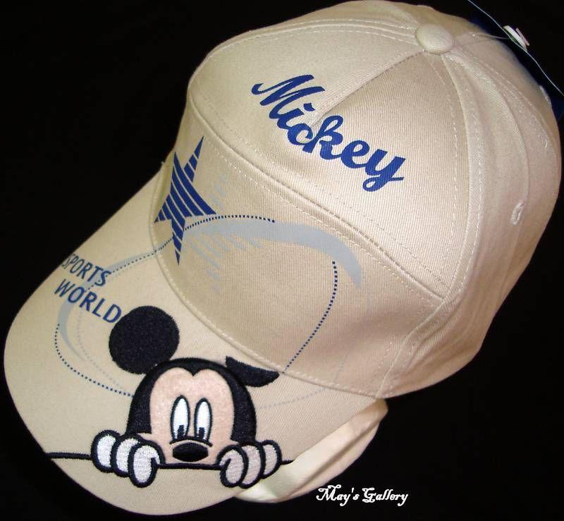 Disney Mickey Minnie Mouse Baseball Cap Hat Adjustable