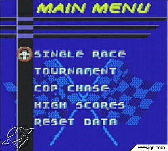 Test Drive 6 Nintendo Game Boy Color, 1999