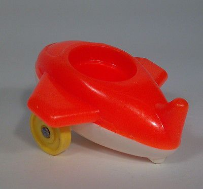 Fisher Price Little People Airplane Riders Orange Plane Ride On Toy