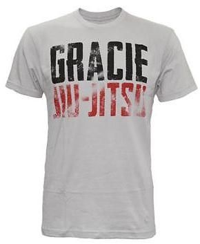 GRACIE ACADEMY ANACONDA JIU JITSU TRAINING SHIRT SIZES S, M, L, XL