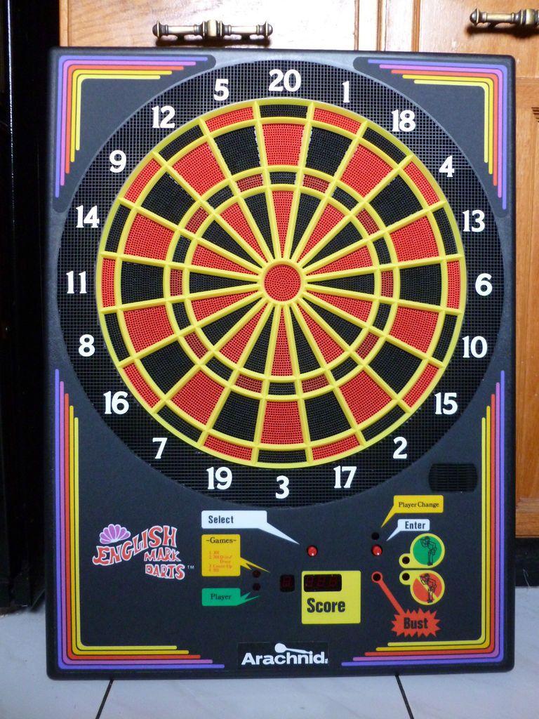 Arachnid Electronic Dart Board Soft Tip Dart Pro I Model 00 210H