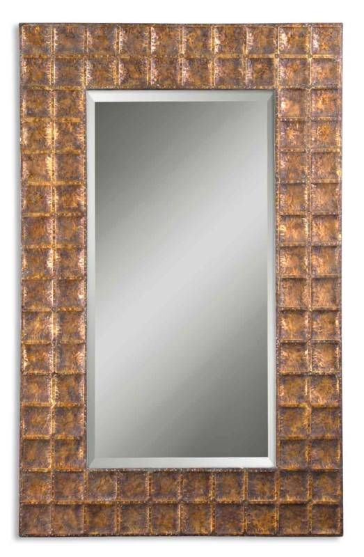 Full Length Metal Gold Wall/Entry Mirror 41 1/8x67 1/4