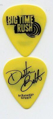 BIG TIME RUSH   DUSTIN BELT guitar pick picks 2012 / 2013 TOUR