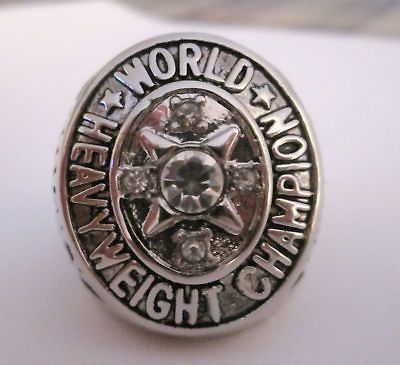 Newly listed World Championship RING Boxing ROCKY MARCIANO BELT RARE