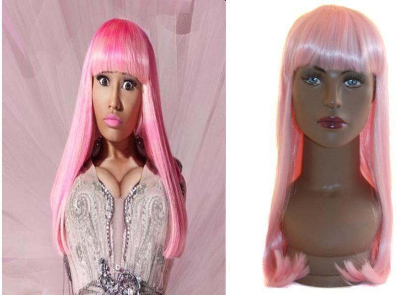 Nicki Minaj in Wigs, Extensions & Supplies