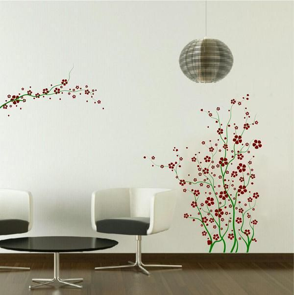 Large Cherry Blossom Tree Branches Nursery Room Wall Decor Decal