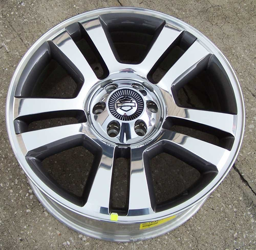 22x9 Factory alloy wheel for 2006 2008 Ford F 150 Harley Davidson