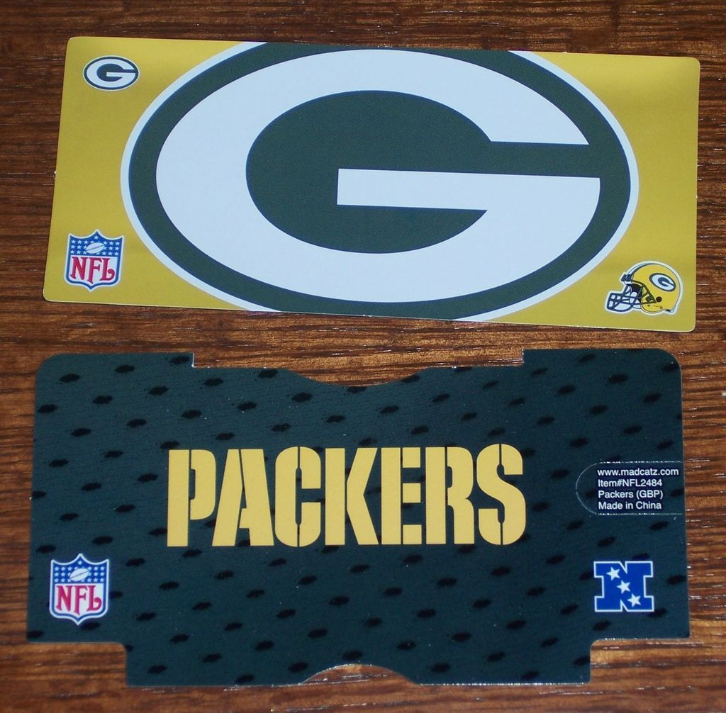 Official Nintendo DS Lite NFL Team Logo PAPER Cover Skin   Choose Your