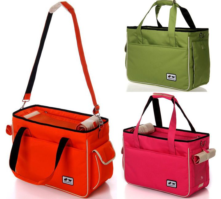 Brand New Pet Dog Cat Carrier Travel Bag Tote Portable S/M/L with