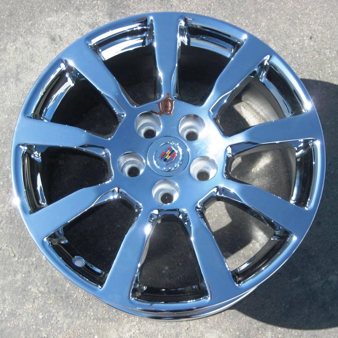 New 18 Factory Cadillac cts Chrome Wheels Rims 2008 2013