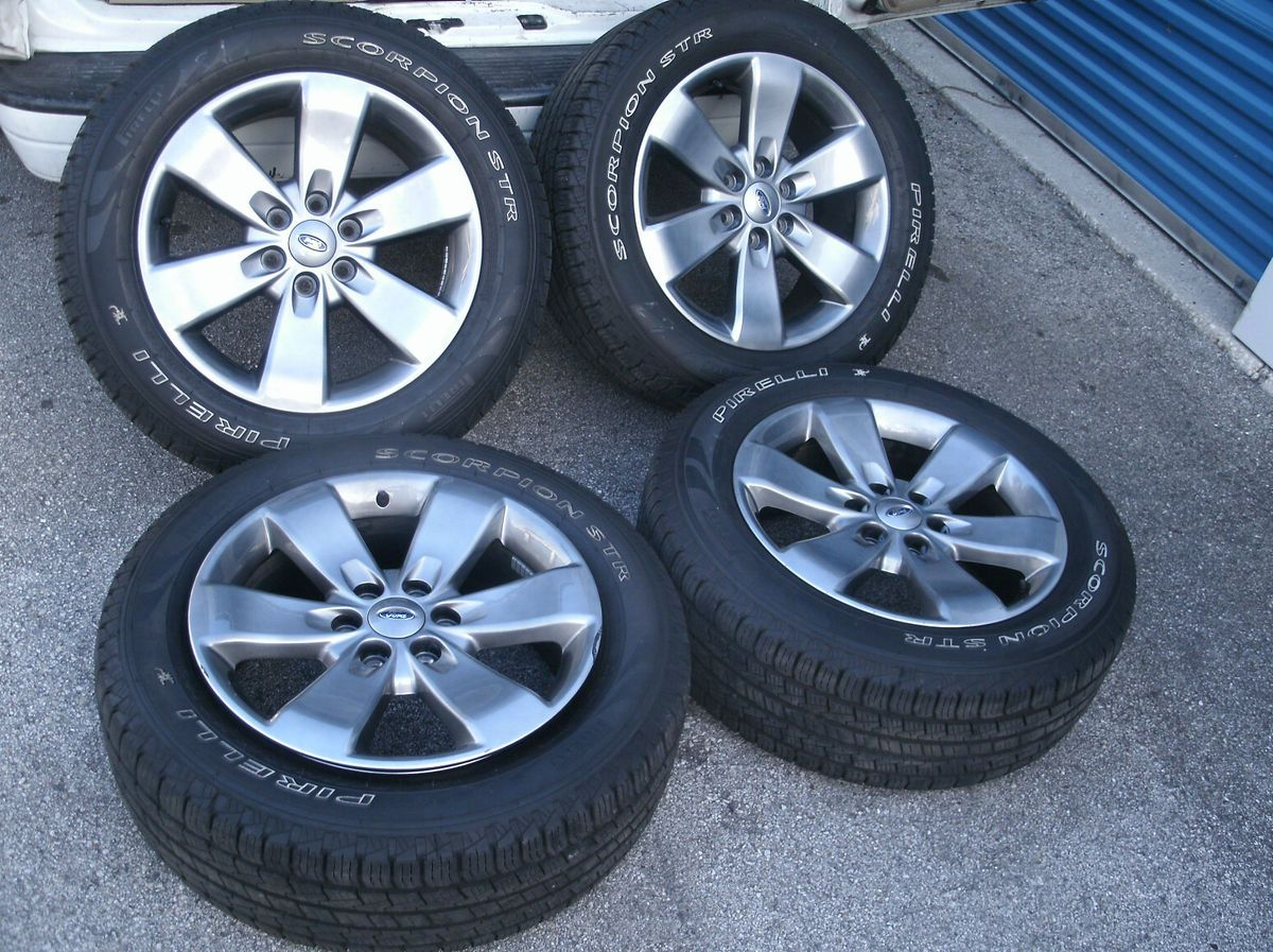 2004 2013 Ford F150 F 150 FX4 Gray 20 Factory OEM Wheels Rims Tires