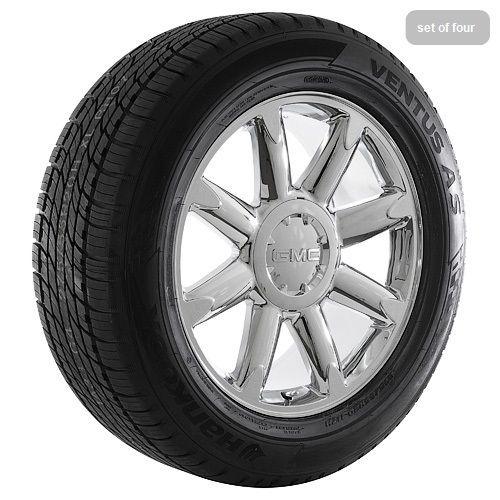 inch GMC Sierra 2011 Yukon Denali Chrome Rims Wheels and Tires
