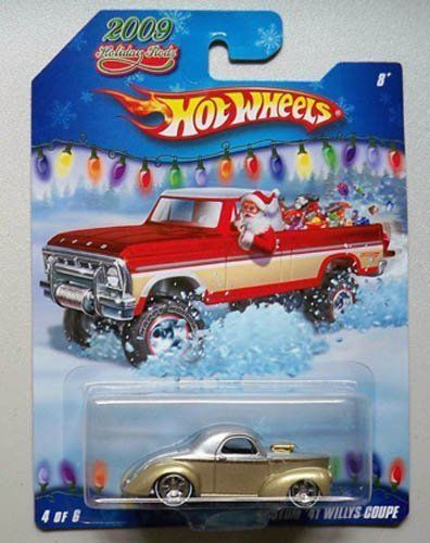 2009 Hot Wheels Holiday Rods Custom 41 Willys Coupe New