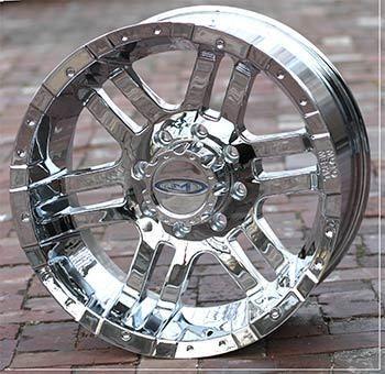 inch Chrome Wheels Rims FORD f250 f350 superduty truck 8 lug 1999 2011