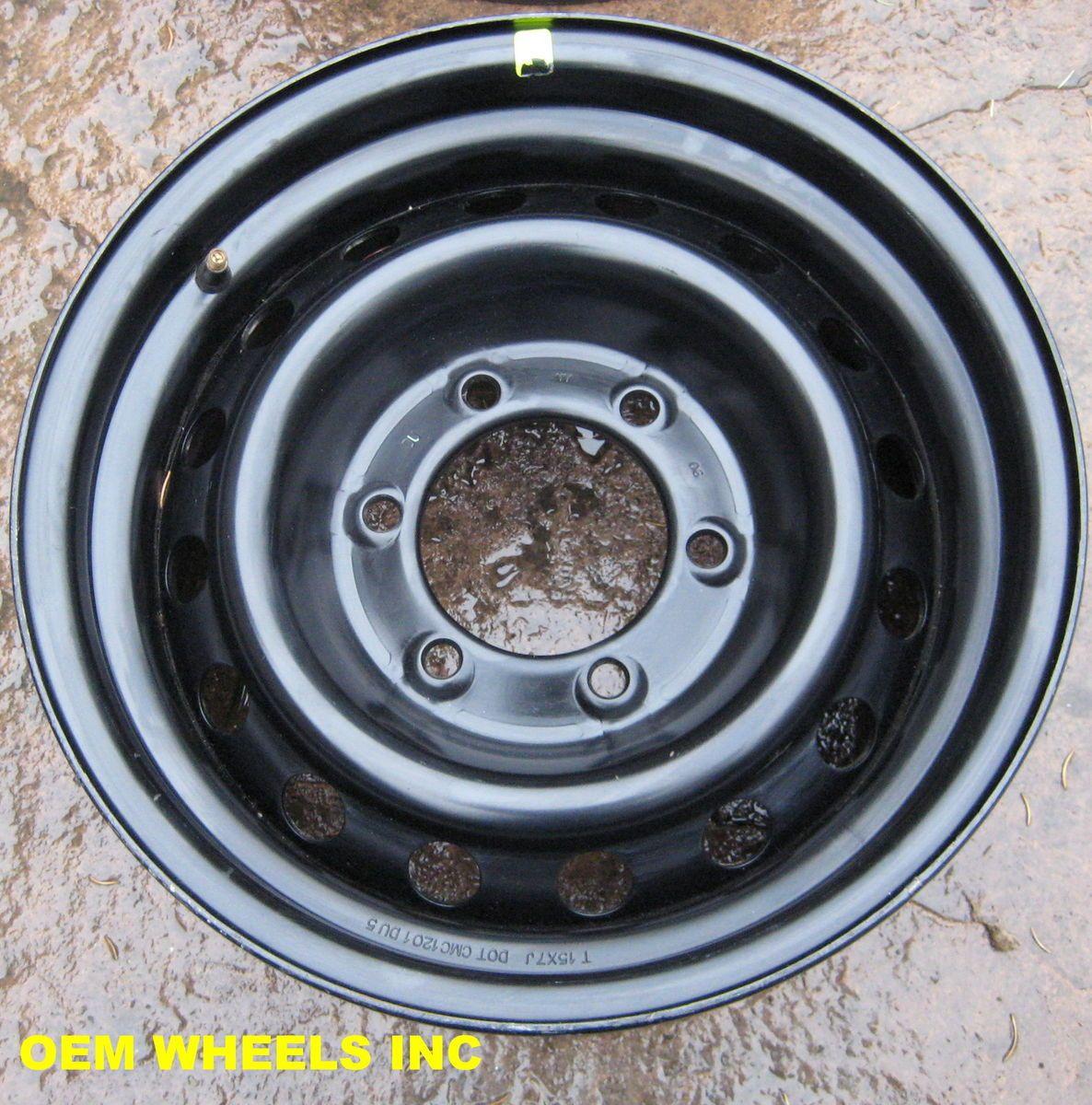 Tacoma FJ Cruiser Factory Steel Black Wheels Rims Genuine