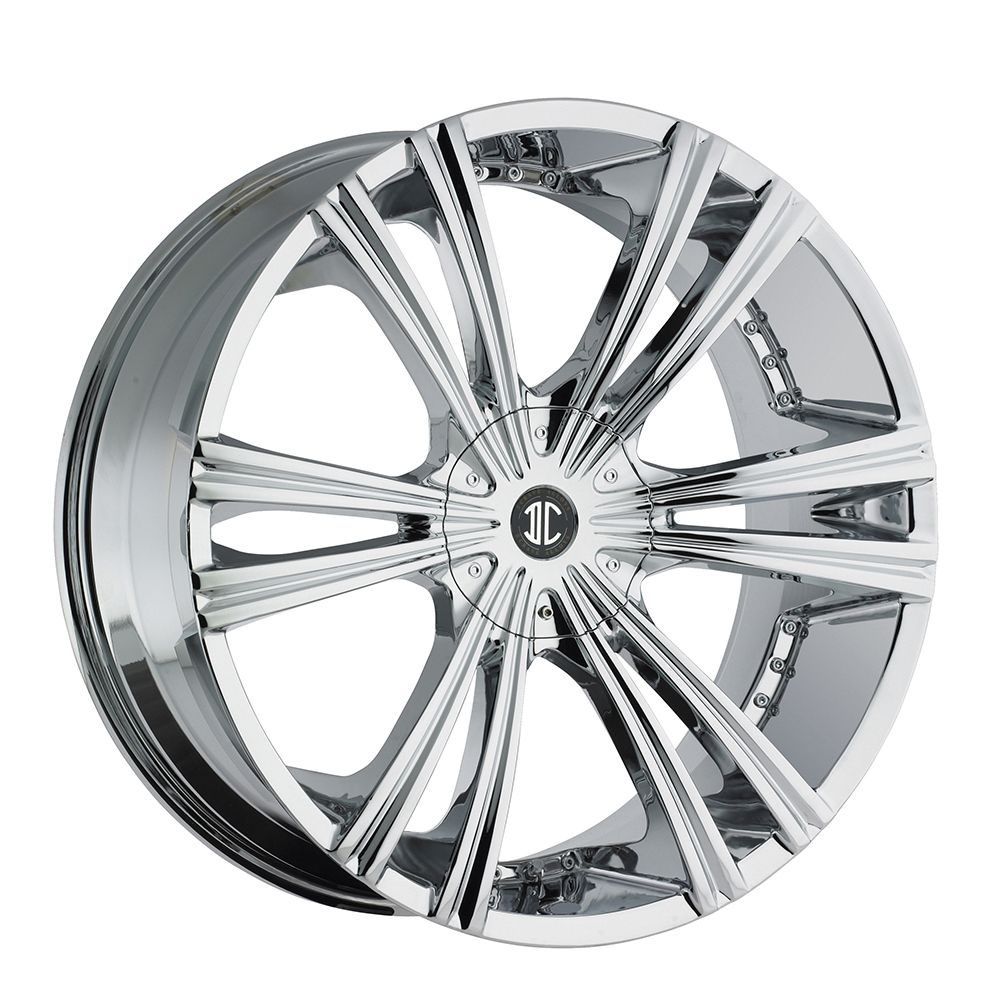 26 2CRAVE 12 Chrome Wheels Rims Tires Chevy Buick Impala Donk 877 955