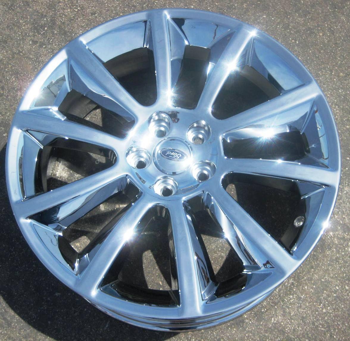 New 20 Factory Ford Flex Chrome Wheels Rims 2010 2012 Exchange Your