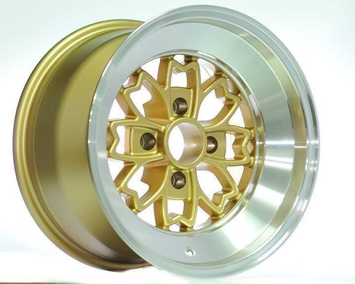 15 Rota Aleica Gold Rims Wheels 15x8 10 4x100 BMW E30 Scion XB XA