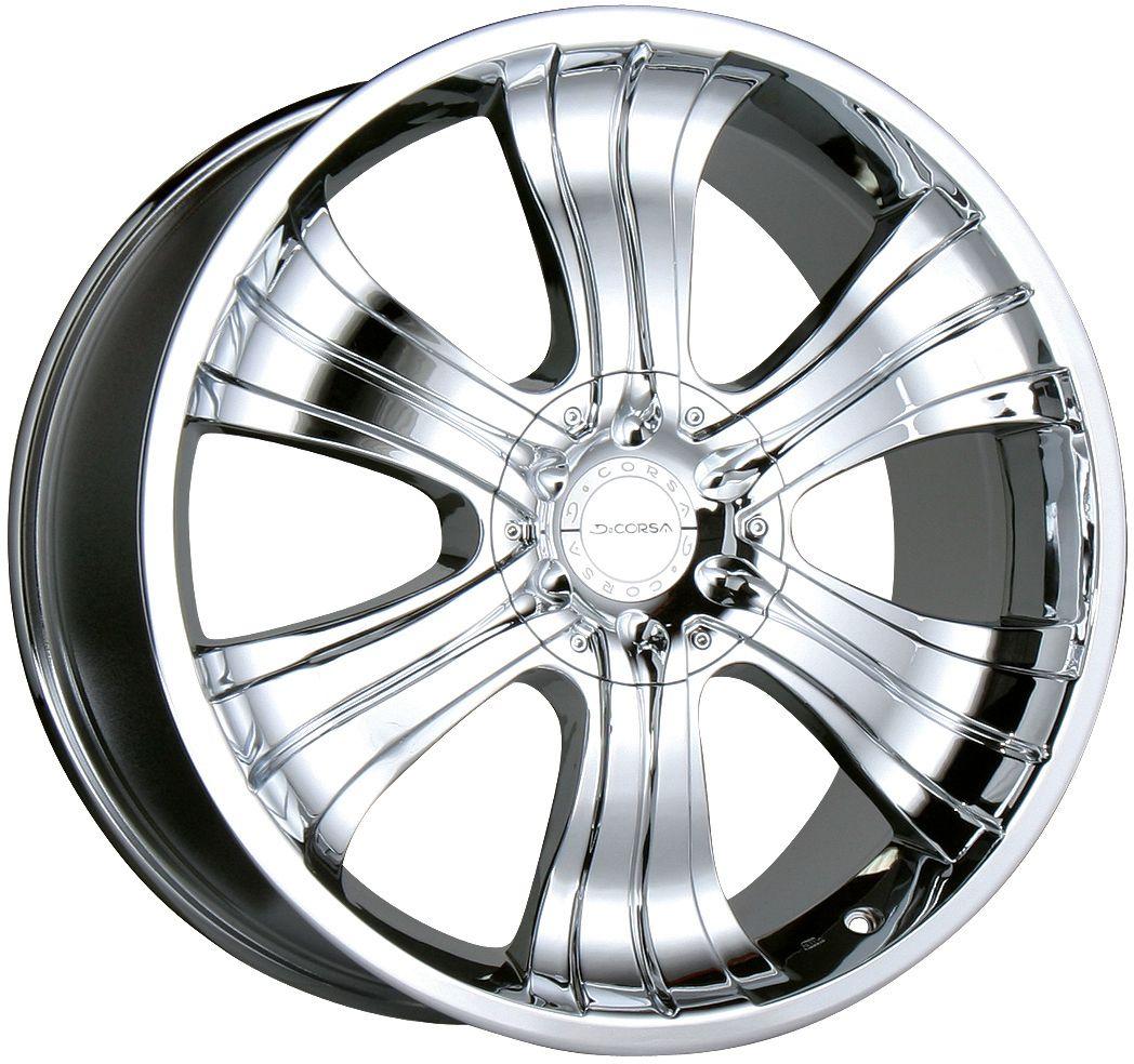 22 Chrome Wheels Rims Chevy Silverado Tahoe Avalanche Suburban 1500